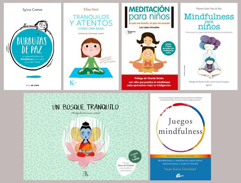Libros Mindfulness para niños y adolescentes